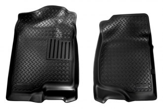 Husky Liners® 31411 - Classic Style™ Floor Liners (1st Row, Black)