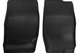 Husky Liners® 33751 - Classic Style™ Floor Liners (1st Row, Black)