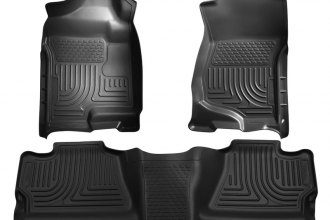 Husky Liners® 98201 - WeatherBeater™ Floor Liners (1st and 2nd Rows, Black)