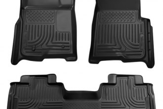 Husky Liners® 98341 - WeatherBeater™ Floor Liners (1st and 2nd Rows, Black)