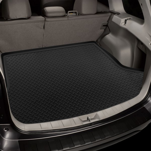 Image may not reflect your exact vehicle! Husky Liners® - Classic Style™ Cargo Liner - Black