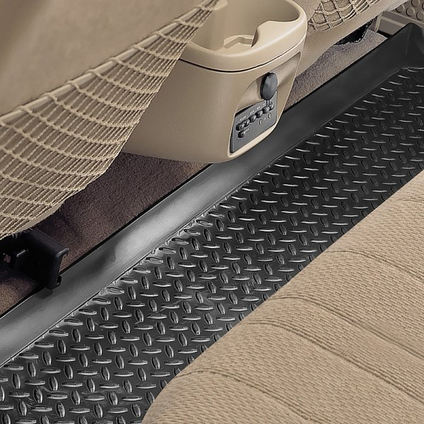 Image may not reflect your exact vehicle! Husky Liners® - Classic Style™ Floor Liners - 3rd Row, Black