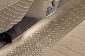 Image may not reflect your exact vehicle! Husky Liners® - Classic Style™ Floor Liners - 3rd Row, Tan