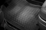 Image may not reflect your exact vehicle! Husky Liners 1st Row Floor Liner - Black