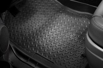 Image may not reflect your exact vehicle! Husky Liners® - Classic Style™ 1st Row Black Floor Liners
