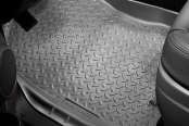 Image may not reflect your exact vehicle! Husky Liners® - Classic Style™ Floor Liners - 1st Row, Gray