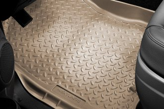 Image may not reflect your exact vehicle! Husky Liners® - Classic Style™ Floor Liners - 1st Row, Tan
