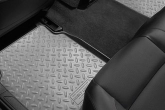 Husky Liners® 61522 - Classic Style™ Floor Liners (2nd Row, Gray)