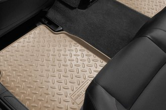 Husky Liners® - Classic Style™ 2nd Row Tan Floor Liners