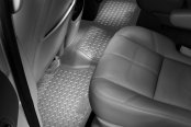 Image may not reflect your exact vehicle! Husky Liners® - Classic Style™ Floor Liners - 3rd Row, Gray