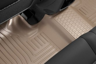 Husky Liners® 19083 - WeatherBeater™ Floor Liners (2nd Row, Tan)