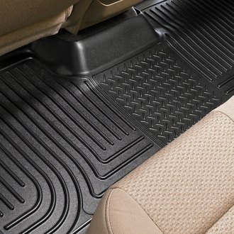 Image may not reflect your exact vehicle! Husky Liners® - WeatherBeater™ Floor Liners - 3rd Row, Black