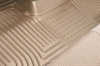 Husky Liners® 19053 - WeatherBeater™ Floor Liners (3rd Row, Tan)