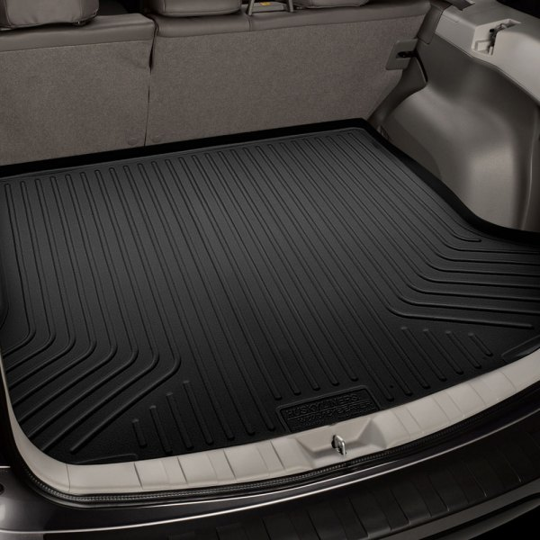 Image may not reflect your exact vehicle! Husky Liners® - WeatherBeater™ Cargo Liner, Black