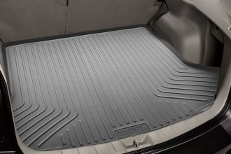 Image may not reflect your exact vehicle! Husky Liners® - WeatherBeater™ Gray Cargo Liner