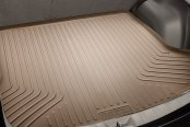 Image may not reflect your exact vehicle! Husky Liners® - WeatherBeater™ Cargo Liner, Tan