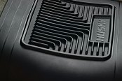 Image may not reflect your exact vehicle! Husky Liners® - Heavy Duty Floor Mats - Center Hump Area, Black