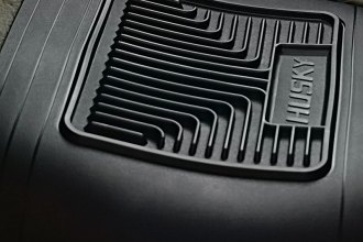 Husky Liners® 53001 - Heavy Duty Floor Mats (Center Hump Area, Black)