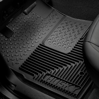 Image may not reflect your exact vehicle! Husky Liners® - Heavy Duty Floor Mats - 1st Row, Black