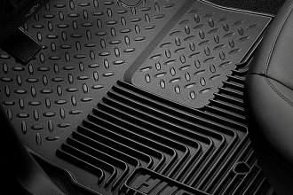 Husky Liners® 52021 - Heavy Duty Floor Mats (2nd Row, Black)