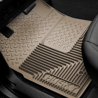 Image may not reflect your exact vehicle! Husky Liners� - Heavy Duty 1st Row Floor Mats - Tan