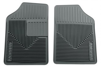 Husky Liners® 51052 - Heavy Duty Floor Mats (1st Row, Gray)