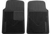 Husky Liners® - Heavy Duty Floor Mats - 1st Row, Black