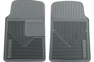 Husky Liners® 51062 - Heavy Duty Floor Mats (1st Row, Gray)