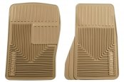 Husky Liners® - Heavy Duty Floor Mats - 1st Row, Tan