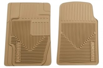 Husky Liners® 51113 - Heavy Duty Floor Mats (1st Row, Tan)
