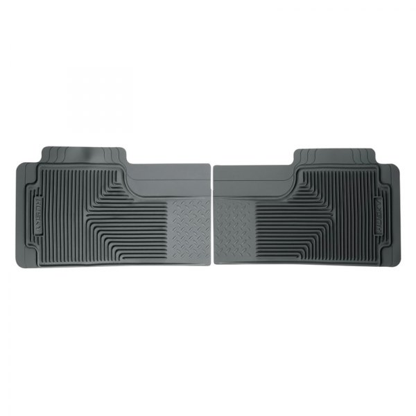 Husky Liners® - Heavy Duty Floor Mats - 3rd Row, Gray