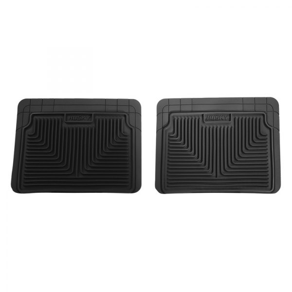 Husky Liners® - Heavy Duty Floor Mats - 2nd Row, Black