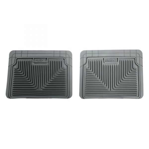 Husky Liners® - Heavy Duty Floor Mats - 2nd Row, Gray