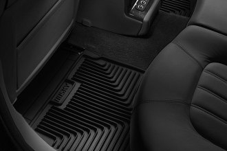 Image may not reflect your exact vehicle! Husky Liners® - Heavy Duty 2nd Row Black Floor Mats