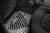 Image may not reflect your exact vehicle! Husky Liners® - Heavy Duty Floor Mats - 2nd Row, Gray