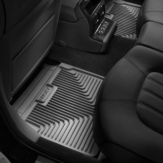 Husky Liners® - Heavy Duty 2nd Row Gray Floor Mats