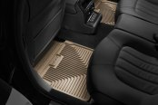Image may not reflect your exact vehicle! Husky Liners® - 2nd Row Tan Heavy Duty Floor Mats