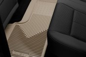 Image may not reflect your exact vehicle! Husky Liners® - 3rd Row Tan Heavy Duty Floor Mats