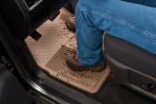 Husky Liners® - Heavy Duty Floor Mat - in Use