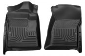 Husky Liners® - WeatherBeater™ Floor Liners - 1st Row, Black