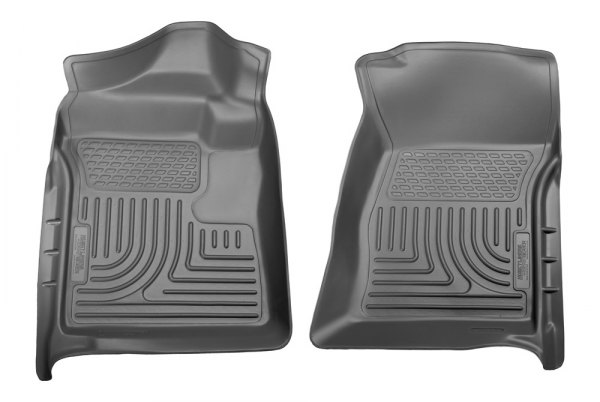 Husky Liners® - WeatherBeater™ Floor Liners - 1st Row, Gray