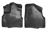 Husky Liners® 18881 - WeatherBeater™ Floor Liners (1st Row, Black)
