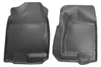 Husky Liners® 31302 - Classic Style™ Floor Liners (1st Row, Gray)
