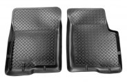 Husky Liners® 31921 - Classic Style™ Floor Liners (1st Row, Black)