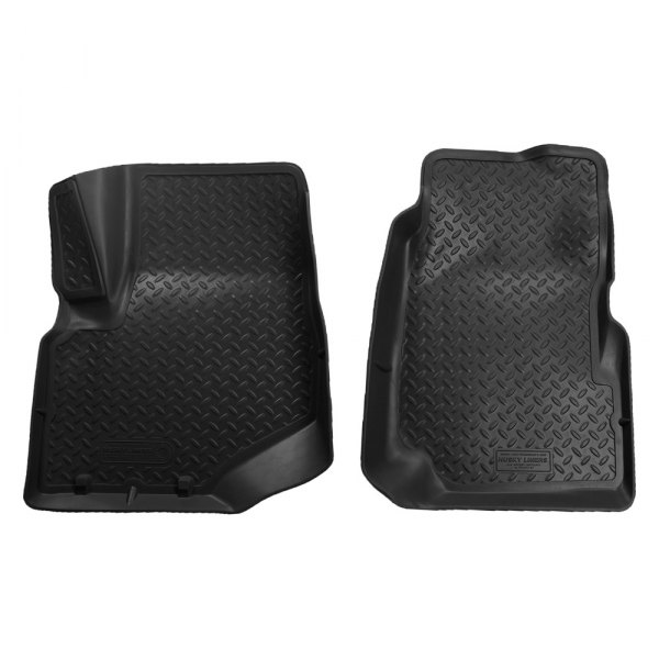 Husky Liners® - Classic Style™ Floor Liners - 1st Row, Black