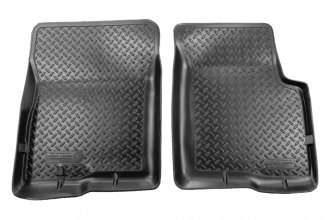 Husky Liners® 34061 - Classic Style™ Floor Liners (1st Row, Black)