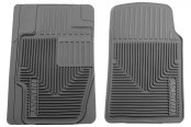 Husky Liners® - Heavy Duty Floor Mats - 1st Row, Gray
