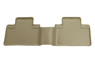 Husky Liners® 63053 - Classic Style™ Floor Liners (2nd Row, Tan)