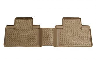 Husky Liners® 66573 - Classic Style™ Floor Liners (2nd Row, Tan)