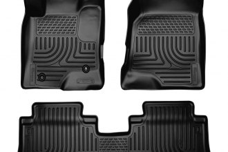 Husky Liners® 96321 - WeatherBeater™ Floor Liners (1st and 2nd Rows, Black)